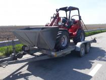 Transport pe platforma 2600 kg