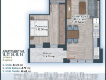 Apartament 2 camere 15 min de metrou, Theodor Pallady