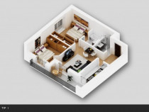 Apartament 3 camere tip 1 titan 4 residence