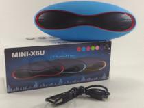 Mini X6 Boxa Portabila Bluetooth / MP3 / FM (diverse culori)