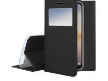 Husa Flip Book S-view Huawei P20 Black PRODUS NOU