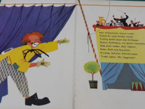 Zirkus drunter und druber/ carte copii limba germană/1966