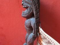 Zeul Razboiului- Arta Hawaiiana -Original -un cadou inedit