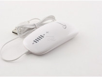 Mouse Gembird Touch optic White MUS-PTU-001-W