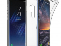 Samsung S9 S9 Plus - Husa 360 Transparenta Fata Silicon Spat