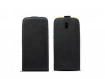 Husa Flip Vertical Sony Xperia Z1 Black PRODUS NOU