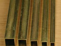 Teava alama 20x20x2 patrata CuZn37 CW508L inox cupru alumini