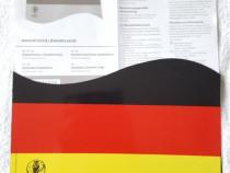 Magnet 30x20 cm. Germania pentru masina