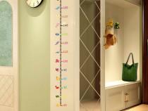 Metru de perete pentru copii Sticker masurare inaltime copii