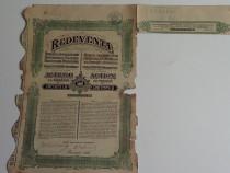 Actiuni vechi Redeventa 500 Lei 1923-1925