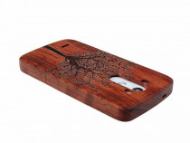 Husa LG G3 Wood&Tree Brown PRODUS NOU