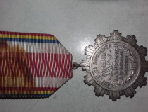 Medalie comunista - A 25a aniversare de la eliberarea Patrie