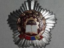 Insigna fruntas in intrecerea socialista -1975-