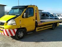 Renault Mascott-Platforma transport auto hidraulica
