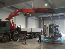 Inchiriere camion cu macara 20t /18m ,piatra neamt