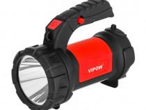 Lanterna led reincarcabila Vipow URZ0912, 3W+3W, 200Lm