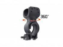 Suport de lanterna pentru bicicleta, negru C226