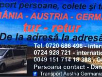 Transport persoane auto Austria-Germania