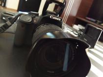 Aparat foto dslr canon eos 650d - cutie,factura, 18-135mm ca