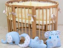 Patut bebe transformabil 9in1, evolutiv,pentru co-sleeping