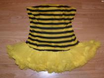 Costum carnaval serbare albina albinuta pentru adulti M-L