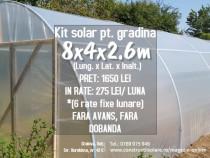 Kit pt. solar ce nu necesita sudura, 8x4x2.6m posibil. rate