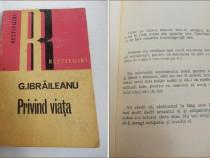 G Ibraileanu - Privind viata