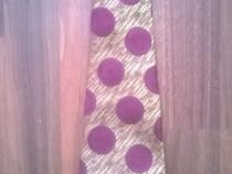 Cravata barbateasca galbena