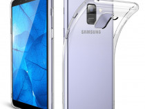 Samsung A6 A6 Plus A8 2018 - Husa Ultra Slim Silicon Transpa