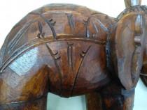 "Statueta din lemn masiv ""Elefant"""