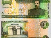 Lot 2 bancnote REPUBLICA DOMINICANA 2003-2017 - UNC