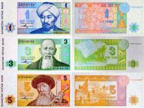 Lot 7 bancnote kazahstan 1993-2012