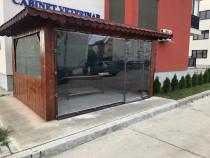 Închideri terase cu folie PVC cristal