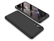 Husa telefon plastic huawei p20 360 full cover black nou