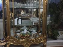 Vitrina living,aurita, stil Napoleon 3, secolul XIX, unicat