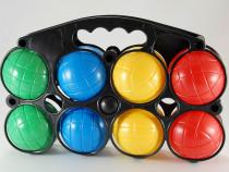Joc petanque (petanca) cu 8 bile din plastic - nou