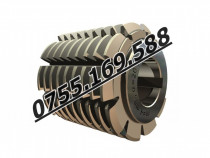 Freza melc monobloc, HSS, DIN 8002 - STAS 3092