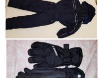 Combinezon, Salopeta iarnă, Costum ski, Overall mărimea 140