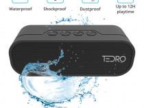 Boxa portabila TEDRO, 20W stereo, IP65, Powerbank, Radio FM