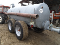 Vitanja vidanja cisterna tandem 6 tone galvanizat