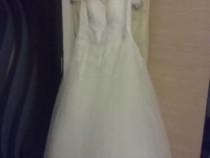 Rochie mireasa marime 50-54 corset regalbil