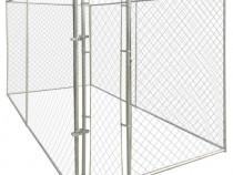 Padoc de exterior pentru câine, 4 x 2 m (141396)