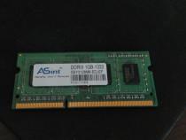 Memorie ram laptop ddr3 1gb (1 placuta ram)