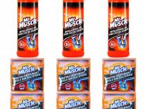 3 x Mr muscle, Gel desfundat tevi + 6x Mr muscle Granule