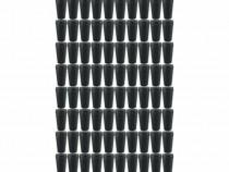 100 bucati - Dop pentru sticla, Din cauciuc, 1L - 2L