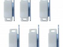 6 bucati, Magnet pentru profil - Plase insecte (Alb)