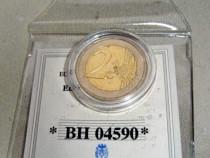 A198-UNC Melalia moneda aniversara 2 euro Athena 2004 Grecia