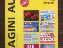 """3 exemplare cartea """"pagini aurii"""" 2010-2011,o buc.2005-2006"""