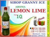 Sirop Granny Ice Lemon Lime.