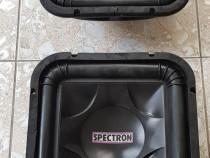 Difuzoare Spectron SP 12 SQ woofer square subwoofer.